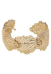 Banana Republic Jeweled Leaf Bracelet Goldcoloured