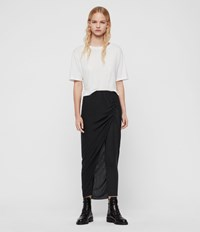 Allsaints Jacka Maxi Leggings Charcoal Grey