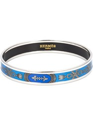 Hermes Vintage Enamel Bangle Metallic
