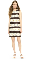 Mother Of Pearl Franklin Floral Shift Dress Daisy Stripe