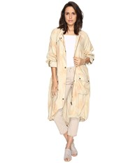 Free People Lightweight Utility Trench Peach Women's Coat Orange