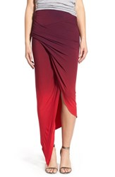Young Fabulous And Broke Women's Young Fabulous And Broke 'Sassy' Asymmetrical Maxi Skirt