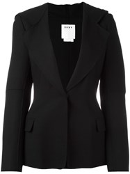 Dkny Hooded Blazer Black