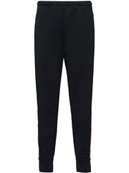 Prada Racing Stripe Track Pants Black