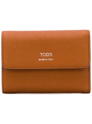 Tod's Leather Wallet Brown