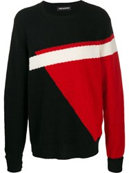 Neil Barrett Geometric Print Jumper 60