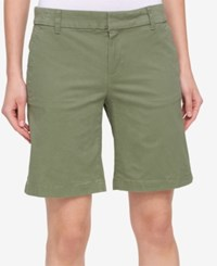 Tommy Hilfiger Hollywood Bermuda Shorts Olive