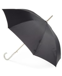 Totes Signature Auto Open Close Stick Umbrella Black