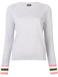 Paul Smith Ps Knitted Crewneck Jumper Grey