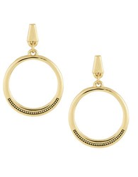 Laundry By Shelli Segal Goldtone Gypsy Hoop Earrings