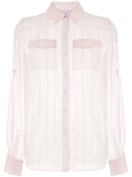 Gabriela Hearst Stitched Silk Blouse 60