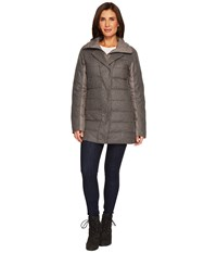 Nau Dual Down Jacket Cape Heather Coat Gray