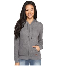 Roxy Signature Hoodie Charcoal Heather Women's Sweatshirt Gray