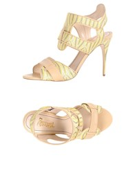 Jerome C. Rousseau Sandals Yellow