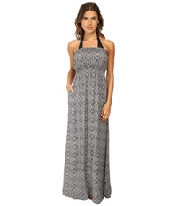 O'neill Marley Tube Maxi Dress Black Women's Dress