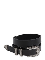 B Low The Belt 25Mm Western Leather