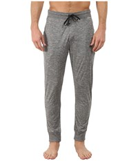 Jockey Poly Jersey Varigated Knit Sleep Pants Grey Heather Men's Pajama Gray