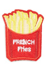 Cara Women's French Fries Patch Brooch