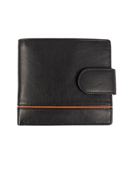 Dents Leather Rfid Protection Wallet Black