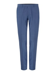 Kenneth Cole Bladon Slim Flat Front Suit Trousers Light Blue