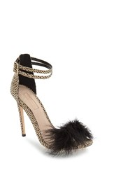 Topshop Women's 'Reese' Feather Sandal