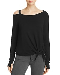 Generation Love Drexler Cold Shoulder Sweatshirt Black