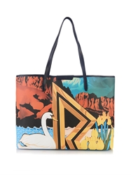 Mary Katrantzou R Melina Coated Canvas Tote