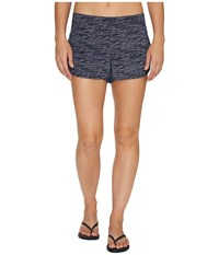 Lole Judy Shorts Dark Spectrum Texture Women's Shorts Blue
