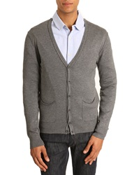 Menlook Label Charcoal Gray Tony Cardigan