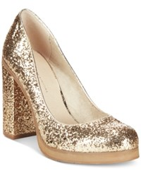 Bc Footwear Turf Glitter Platform Pumps Women's Shoes
