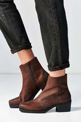 Vagabond Ariana Leather Ankle Boot Brown