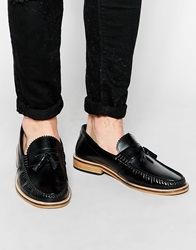Lambretta Tassle Loafers Black