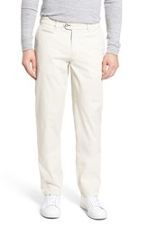 Brax Everest Flat Front Chinos Sand