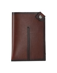 Tod's Small Leather Goods Document Holders Men Dark Brown
