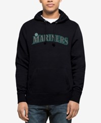 47 Brand '47 Men's Seattle Mariners Sport Raglan Hoodie Navy Navy