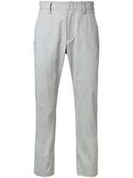 Attachment Skinny Trousers Grey