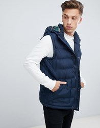 Tokyo Laundry Hooded Gilet Navy
