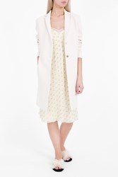 The Row Women S Brooxi Two Button Coat Boutique1 White