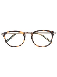 Oliver Peoples Turtle Print Glasses Black