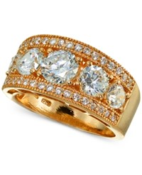 Giani Bernini Cubic Zirconia Ring In 18K Rose Gold Plated Sterling Silver Created For Macy's