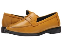 Cole Haan Pinch Campus Penny Sunray Women's Slip On Dress Shoes Yellow