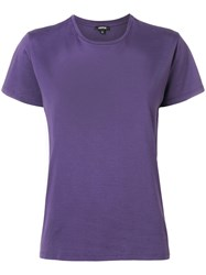 Aspesi Relaxed Fit T Shirt Purple