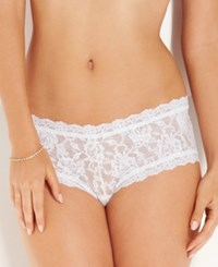 Hanky Panky Signature Lace Boyshort 4812 White