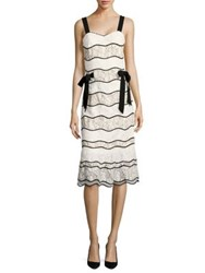 Sachin Babi Sleeping Beauty Lace Dress Ivory