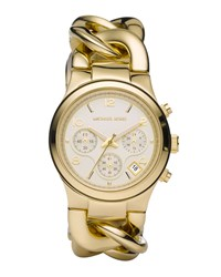 Chain Link Watch Shiny Golden Michael Kors