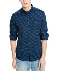 Kenneth Cole Reaction Men's Diamond Print Shirt