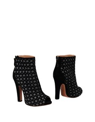 Alaia Ankle Boots Lead