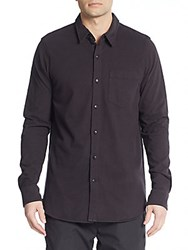 Splendid Mills Regular Fit Cotton Knit Sportshirt Black