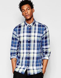 Minimum Check Shirt Blue