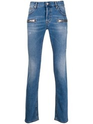 Just Cavalli Zip Detail Skinny Jeans 60